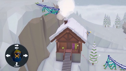 When Ski Lifts Go Wrong - Steam and Nintendo Switch