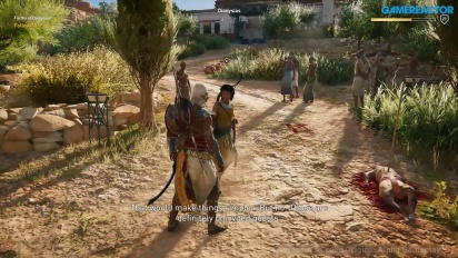 Assassin's Creed Origins - E3 Gameplay