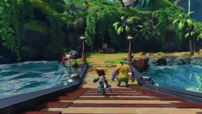 Ratchet & Clank PS4 - Pokitaru Gameplay Trailer