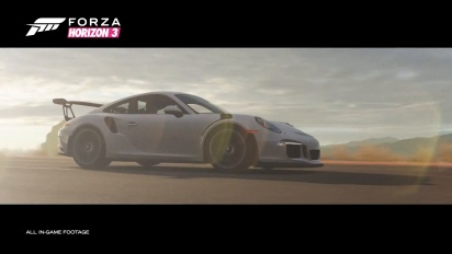 Forza Horizon 3 - Porsche Car Pack