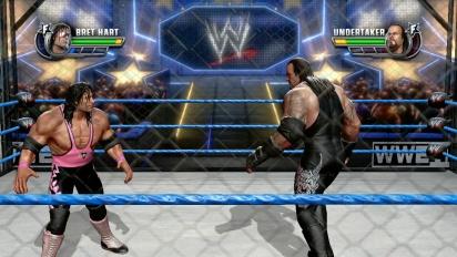 WWE All Stars - Gameplay Bret Hart vs. Undertaker
