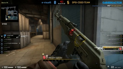 CS:GO S2 - Div 7 Round 1 - evisual vs OPSI - Train
