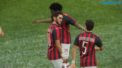 PES 2019 - Inter - Milan Gameplay