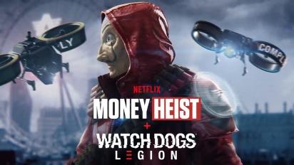 Watch Dogs: Legion - Money Heist Launch Trailer