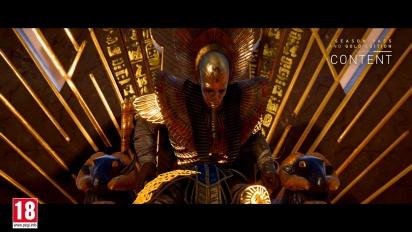 Assassin's Creed Origins - Post-Launch Season Pass Content Trailer