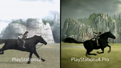 Shadow of the Colossus - Comparison Trailer