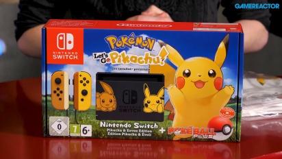 Pokémon: Let's Go Pikachu!/Let's Go Eevee! - Prize Unboxing (Content Marketing)