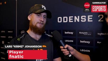 ESL Pro League Finals - Krimz Interview