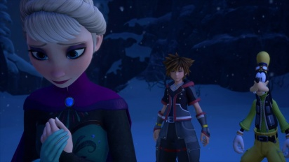 Kingdom Hearts III - E3 2018 Frozen Trailer