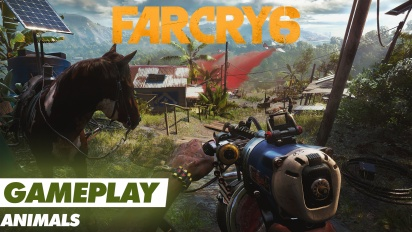 Far Cry 6 - Animals - Gameplay