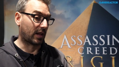 Assassin's Creed Origins - Jean Guesdon Interview