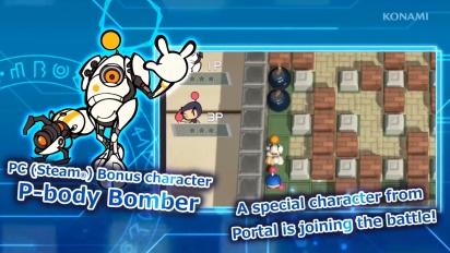 Super Bomberman R - P-Body Reveal Trailer