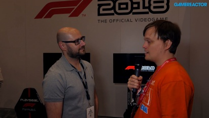 F1 2018 - Lee Mather Interview