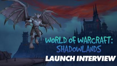 World of Warcraft: Shadowlands - Patrick Dawson & Sarah Verrall Launch Interview