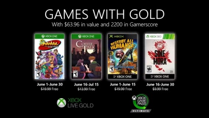Xbox - June 2020 Games with Gold