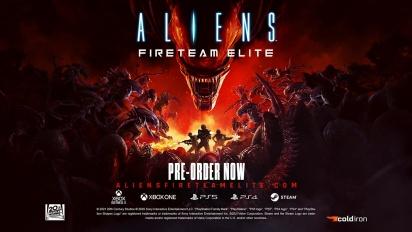 Aliens: Fireteam - Elite Pre-order Trailer