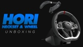 Hori - Racing Wheel and Surround Sound Neckset Unboxing