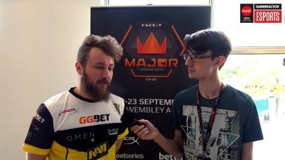 Faceit Major - Edward Interview