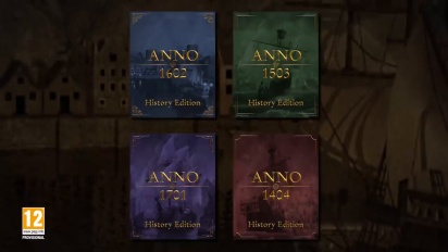 Anno History Collection - Announcement Trailer