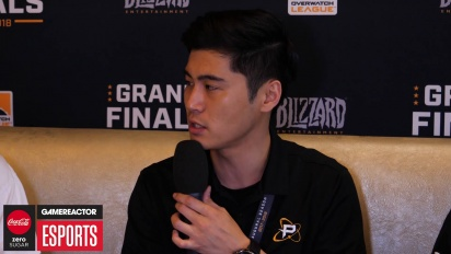 Overwatch League Finals - NamedHwi and Sado Interview