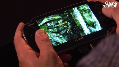 E3 11: Uncharted: Golden Abyss Gameplay