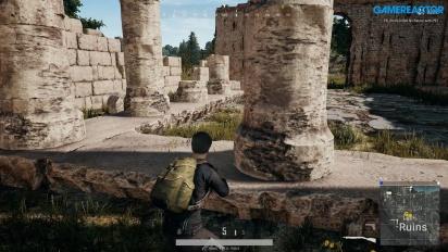 PlayerUnknown's Battlegrounds - Erangel Ruins Gameplay