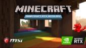 Minecraft RTX with MSI (Sponsored)