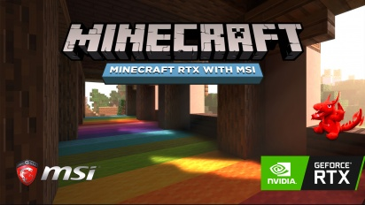 Minecraft RTX with MSI (Sponsored)
