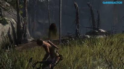 Rise of the Tomb Raider - Bjørn dør ved bue