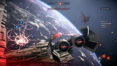 Star Wars Battlefront II - 9 Minutes of Starfighter Assault Gameplay