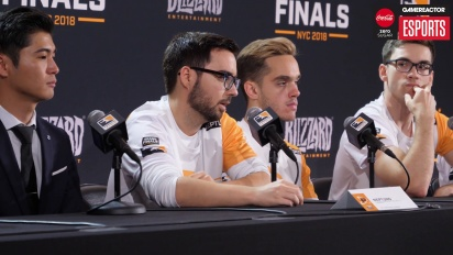 Overwatch League Finals - Philadelphia Fusion Finals Press Conference