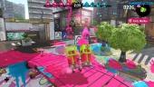 Splatoon 2 - Turf War Pink Team Gameplay at The Reef
