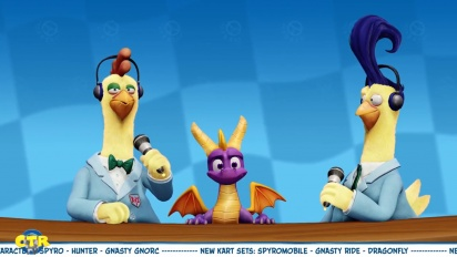 Crash Team Racing Nitro-Fueled - Spyro & Friends Grand Prix Trailer