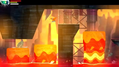 Guacamelee - New level - Volcano on PS4