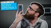 Quick Look - Sony Xperia 1