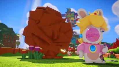 Mario + Rabbids Kingdom Battle - Character Vignette: Rabbid Peach