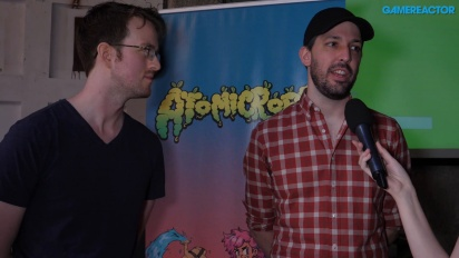 Atomicrops - Danny Wynne and Toby Dixon Interview