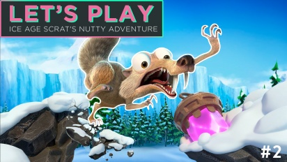 Let's Play Ice Age: Scrat's Nutty Adventure - Episode 2