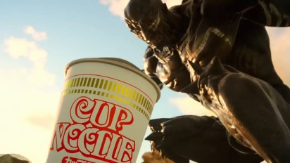 Final Fantasy XV - Weird Japanese Cup Noodle Ad #2