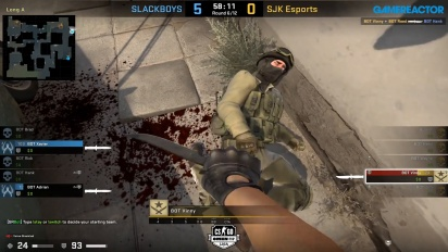 Steelseries League 2v2 - Slackboys VS SJK Esports on Dust2