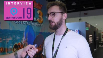 Asterix & Obelix XXL 3: The Crystal Menhir - Vincent Behaghel Interview