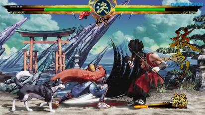 Samurai Shodown - Haohmaru Story Gameplay
