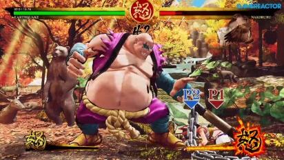 Samurai Shodown - Earthquake Story Gameplay