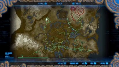 The Legend of Zelda: Breath of the Wild - Hero's Path Demonstration