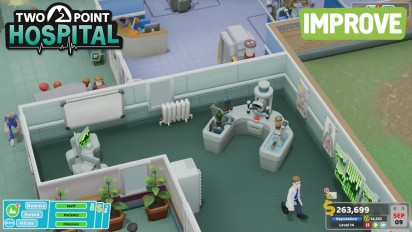 Two Point Hospital - PC Gaming Show 2018 Trailer