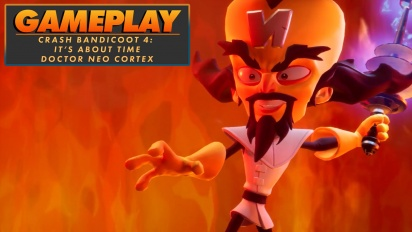 Crash Bandicoot4: It's About Time - Neo Cortex Gameplay
