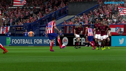 FIFA 14 - Champions League Last 16 - Atlético de Madrid vs AC Milan