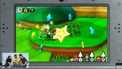 Mario & Luigi: Paper Jam Bros. - Nintendo Treehouse Live @ E3 2015