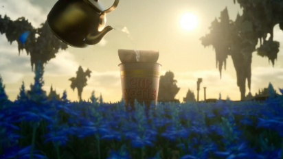 Final Fantasy XV - Weird Japanese Cup Noodle Ad