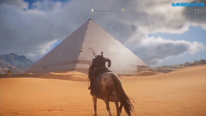 Assassin's Creed Origins - Journey across the map